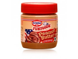 FUN FOODS PEANUT BUTTER CREAMY 340GM