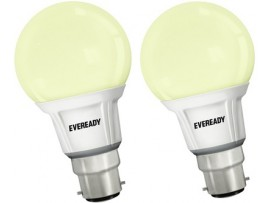 Eveready 7 W LED Combo - 4000K Bulb(White, Pack of 2)