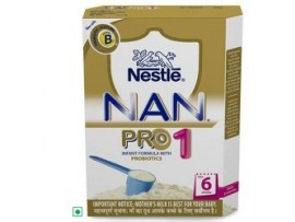 Nestle Nan Pro - Stage 1, 400 gm Carton