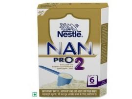 Nestle Nan Pro - Stage 2, 400 gm Carton