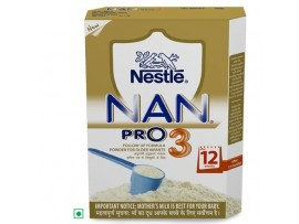 Nestle Nan Pro - Stage 3, 400 gm Carton