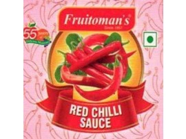 FRUITOMANS RED CHILLY SAUCE 200GM