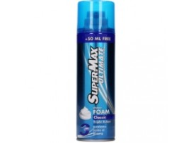 SUPERMAX ULTIMATE SHAVING FOAM CLASSIC 300ML