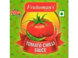 FRUITOMANS TOMATO CHILLI SAUCE 200GM