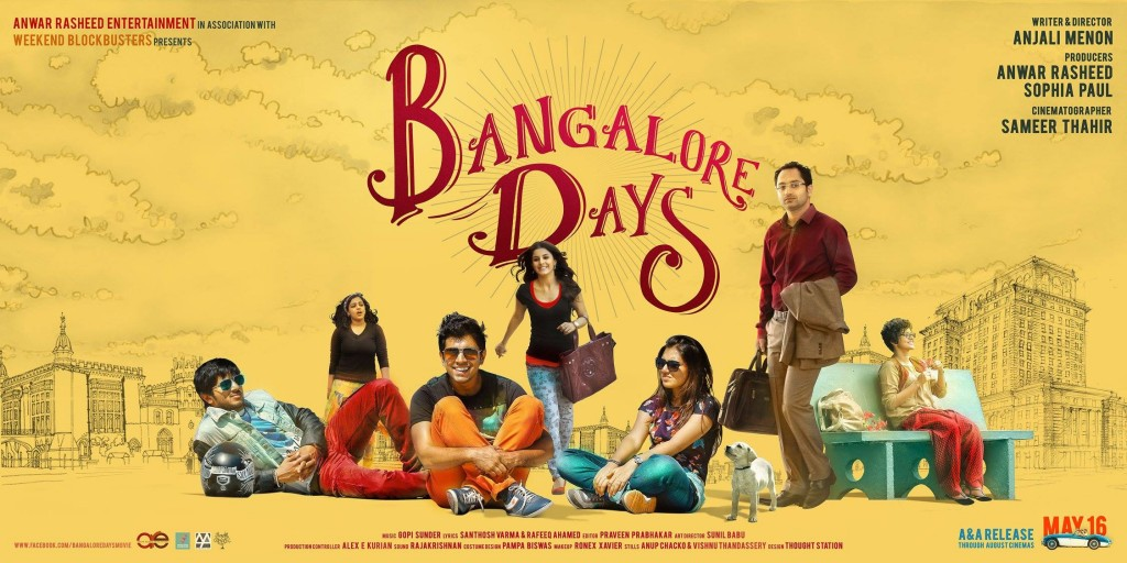 Bangalore Days malayalam films 2014