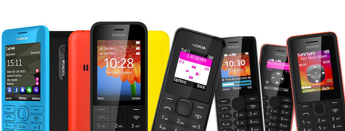 Nokia Entry Level Mobile Phones - OneDayCart