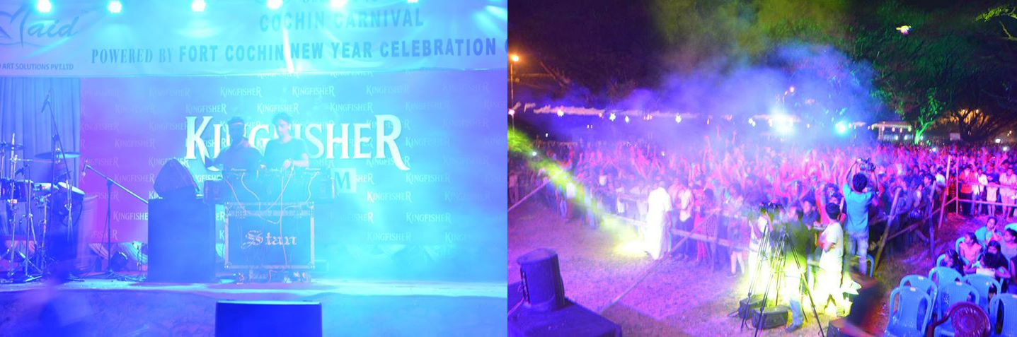cochin carnival DJ