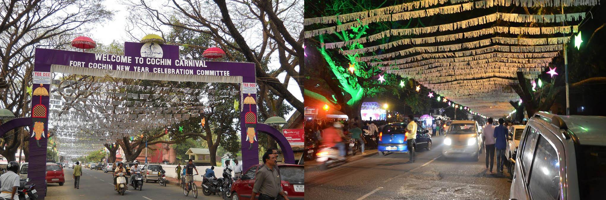 cochin carnival path