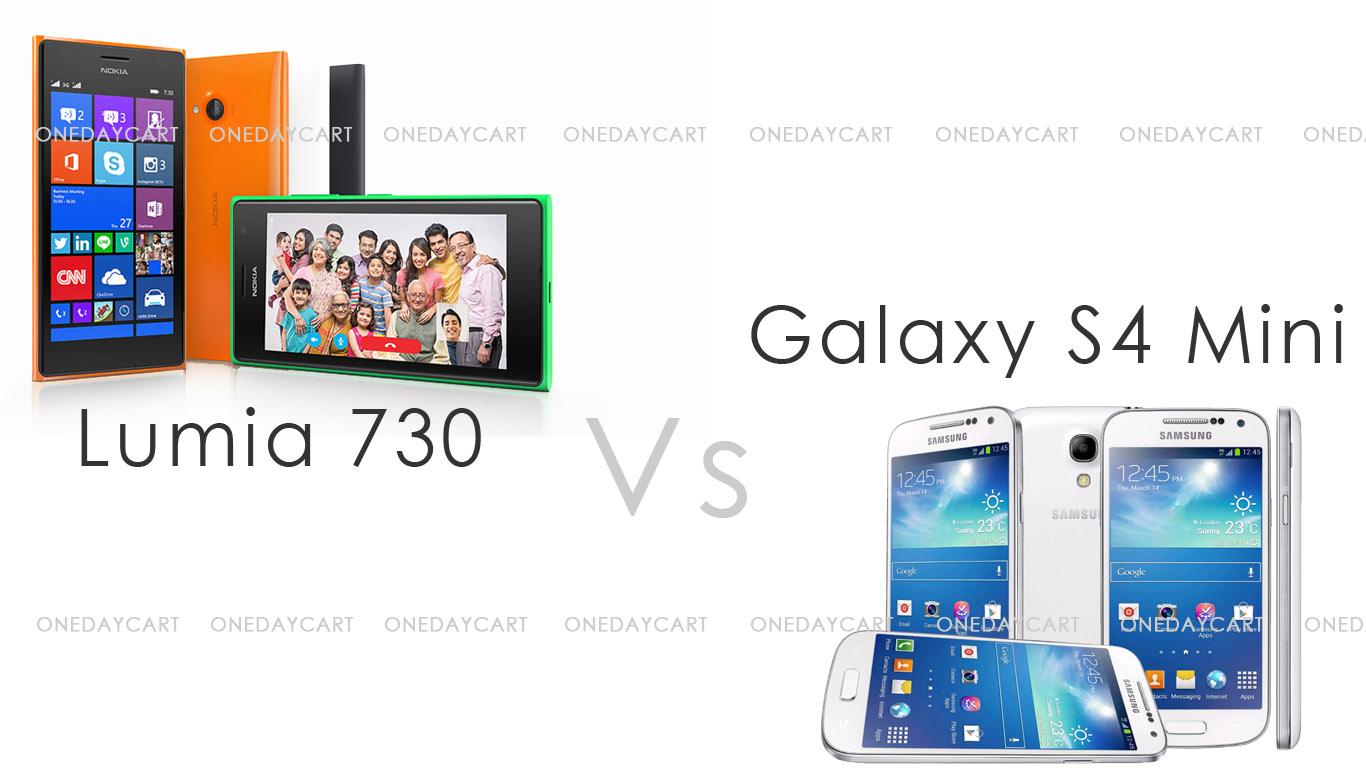 lumia 730 vs Galaxy S4 Mini