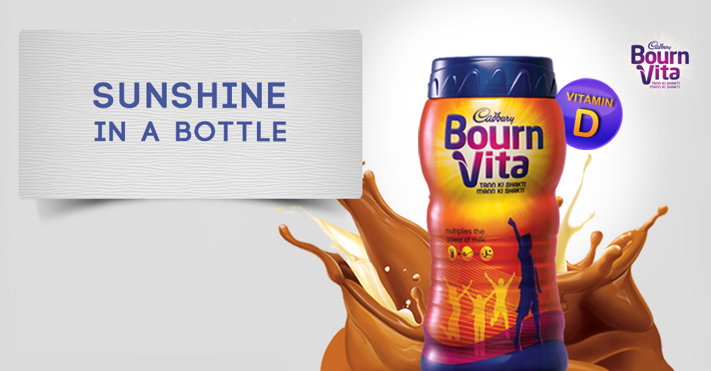 Bournvita Sunshine in a bottle