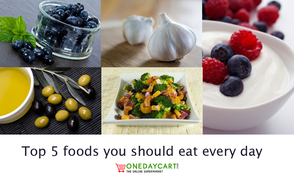 Top 5 foods you should eat every day onedaycart online for Can i eat fish everyday