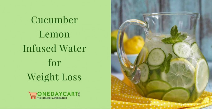 Cucumber Lemon Infused Water for Weight Loss