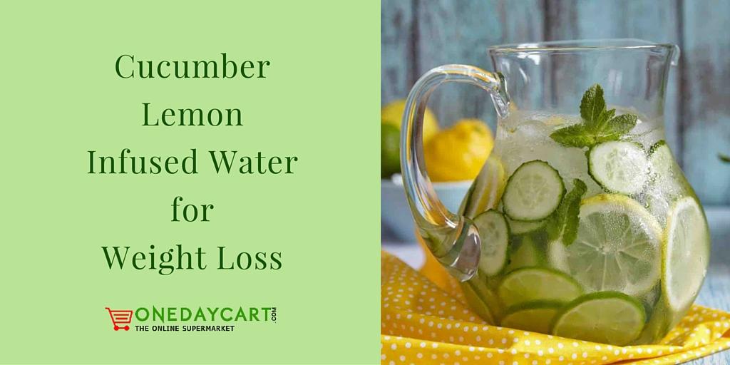 CucumberLemonInfused WaterforWeight Loss
