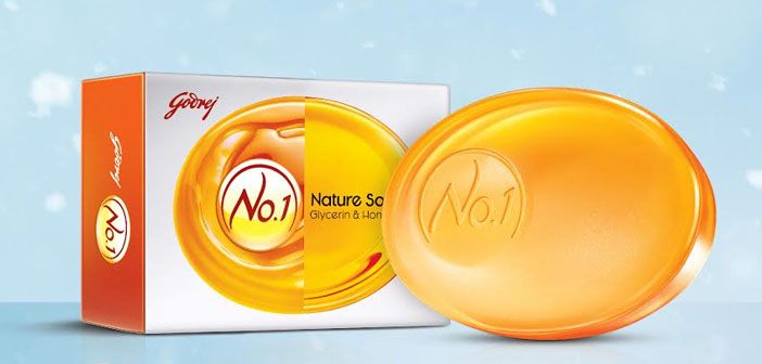 Godrej No.1's new Honey & Glycerin soap