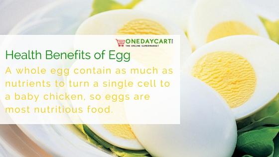 Health Benefits od Egg
