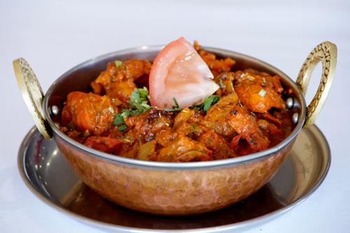 Pakistani chicken kadai