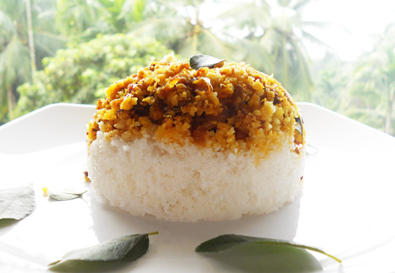 fish masala puttu