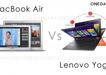 Lenovo Yoga 2 vs MacBook Air